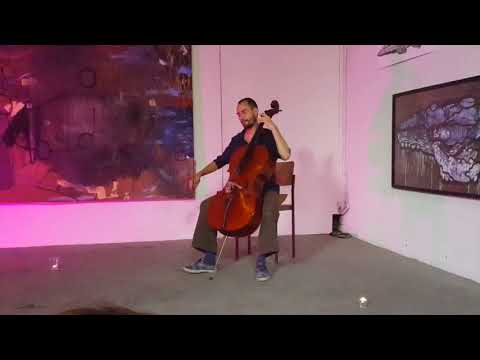 Hartyáni Gábor – Solo Cello June 17th in the Werkhalle Wiesenburg