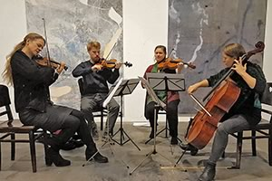 Events - The irresistible Wiesenburg Quartet