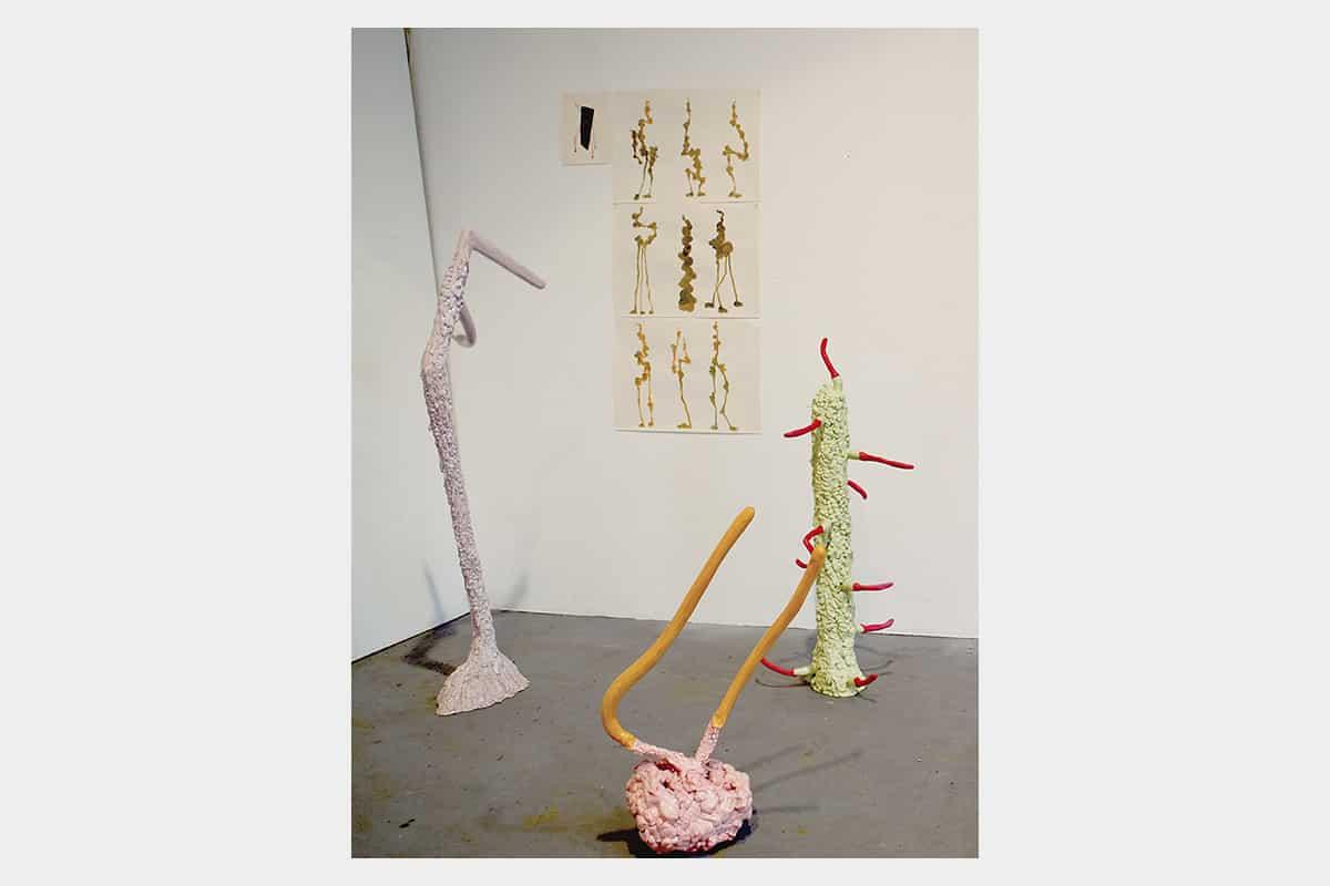 Werkhalle Wiesenburg Berlin - Leize Jenius Ausstellung - Heather Allen