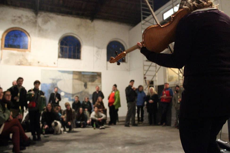 Werkhalle Wiesenburg Berlin - Smoked opening - Thomas Henriksson