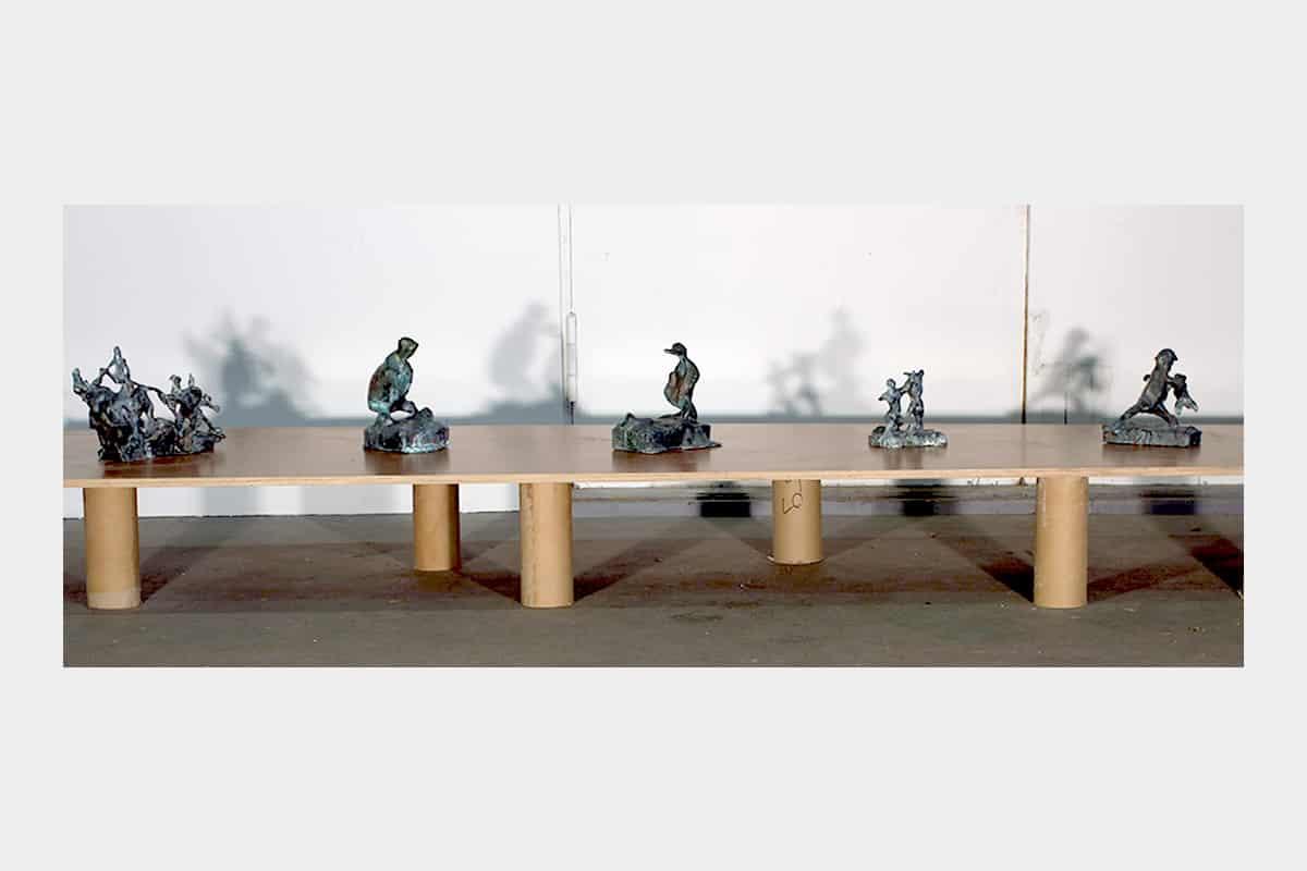 Werkhalle Wiesenburg Berlin - Leize Jenius Ausstellung - Leonid Sokhranski
