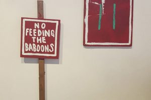 "Jon Konkol - ""No Feeding the baboons"""