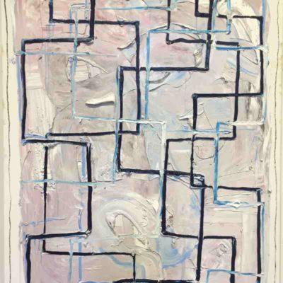 Still Untitled (Kikon), Oil on Linen, 150x120cm, 2019