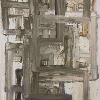 Still Untitled (Portals), oil on Linen, 150 x 120cm,2019